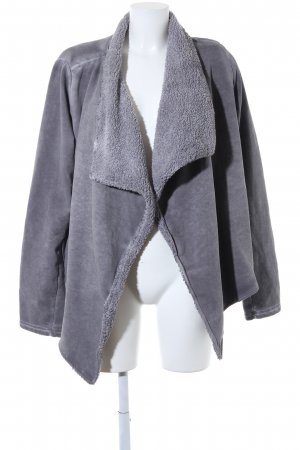 Better Rich Fur Jacket grey washed look