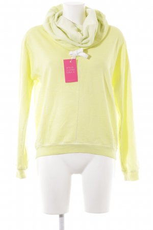 Better Rich Hooded Sweater neon yellow casual look