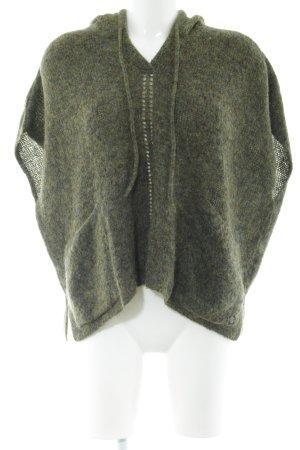 Better Rich Short Sleeve Sweater khaki flecked casual look