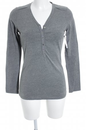 Better Rich Longsleeve grau Casual-Look