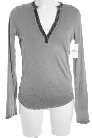 Better Rich Longsleeve grey casual look