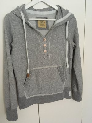 Better Rich Sweatshirt gris clair-blanc