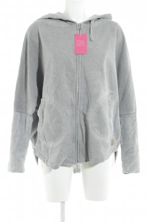 Better Rich Sweatjacke hellgrau meliert Casual-Look