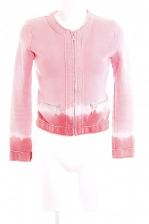Better Rich Veste sweat rose gradient de couleur style décontracté