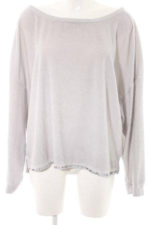 Better Rich Sweatshirt lichtgrijs casual uitstraling