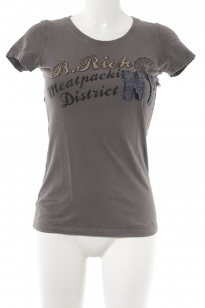 Better Rich T-Shirt dunkelgrau Casual-Look