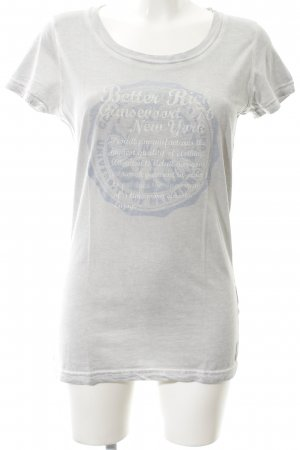 Better Rich T-Shirt hellgrau-hellblau meliert Casual-Look
