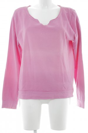 Better Rich V-Ausschnitt-Pullover pink Casual-Look