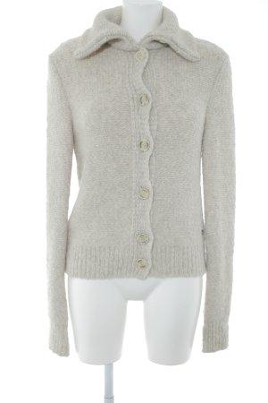 Better Rich Chaqueta de lana blanco puro look casual