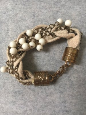 Charm Bracelet gold-colored-cream