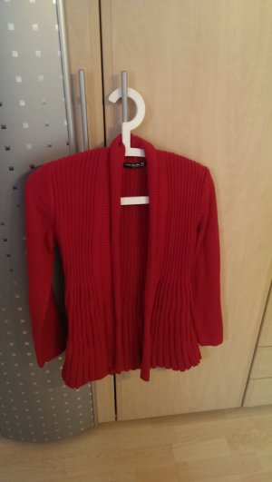 Betty Barclay Cárdigan rojo frambuesa-magenta