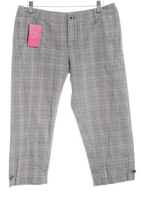 Betty Barclay 3/4-broek geruite print casual uitstraling