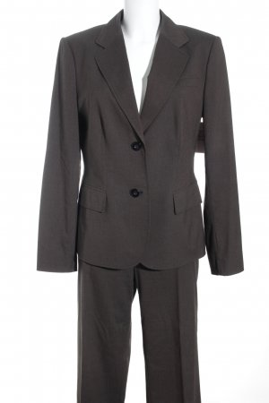 Betty Barclay Suit Trouser grey brown business style