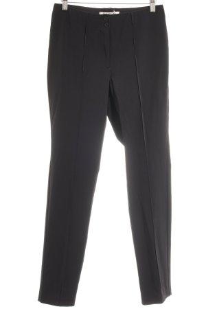 Betty Barclay Pantalon zwart Webpatroon casual uitstraling