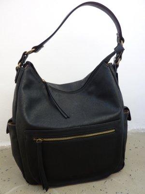 Betty Barclay Beutel Tasche Ledertasche Shopper schwarz
