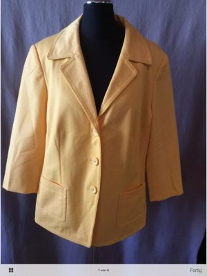 Betty Barclay Blazer Gr 44 gelb