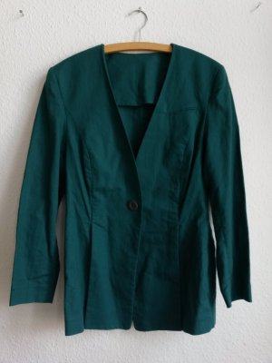 Betty Barclay Blazer grün Leinen