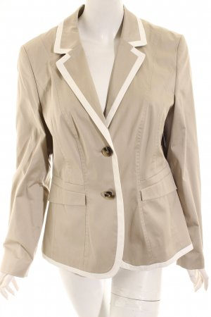 Betty Barclay Blazer hellgrau-weiß Elegant