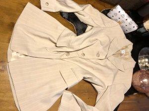Betty Barclay Blazer Jacke creme streifen gr. 42