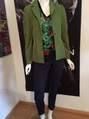 Betty Barclay Blazer Orsay blusen Shirt floral und dunkelblaue Hose Orsay skinny leg 34/36