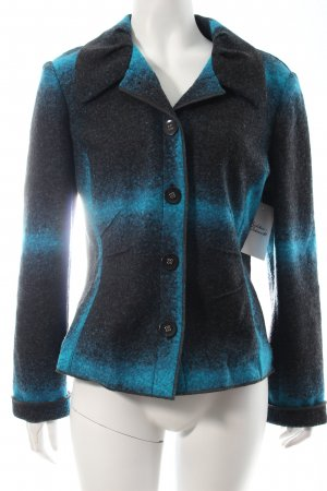Betty Barclay Blazer schwarz-petrol