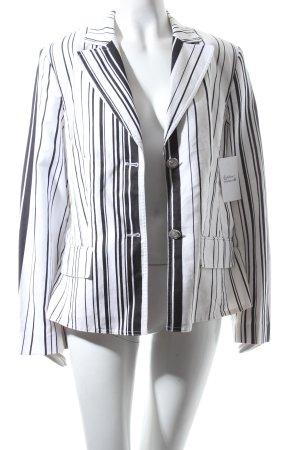 Betty Barclay Blazer weiß-schwarz Streifenmuster klassischer Stil