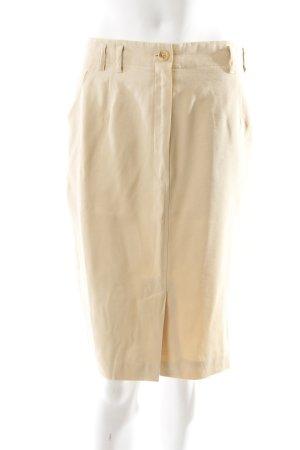 Betty Barclay Falda de tubo beige estilo sencillo