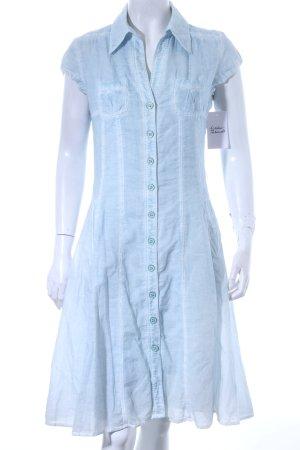 Betty Barclay Blusenkleid hellblau Batikmuster Casual-Look