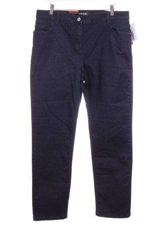 Betty Barclay Boot Cut Jeans dunkelblau Casual-Look