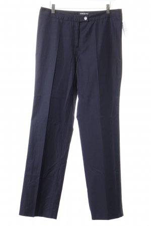 Betty Barclay Bundfaltenhose dunkelblau Elegant