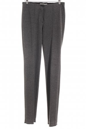 Betty Barclay Bundfaltenhose schwarz-grau meliert Business-Look
