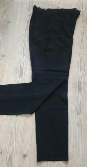 Betty Barclay Wollen broek zwart Scheerwol