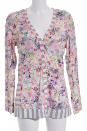 Betty Barclay Cardigan Blumenmuster extravaganter Stil