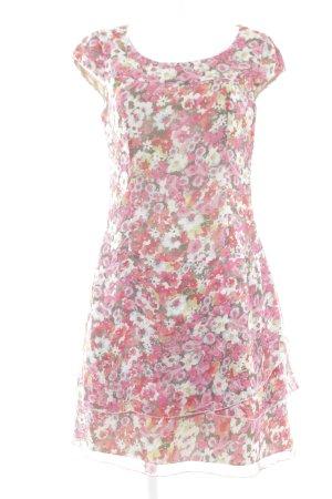 Betty Barclay Vestido de chifón estampado floral look casual