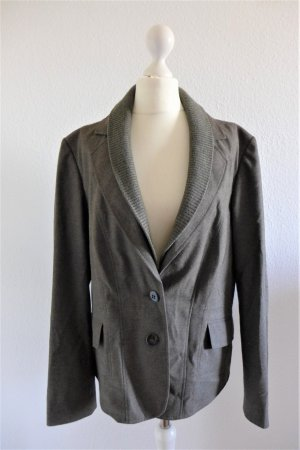 Betty Barclay Collection Blazer Jacke Jacket Hosenanzug braun meliert Flanell Gr.42 L