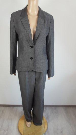 Betty Barclay Collection Damen Hosenanzug Blazer grau Größe 38