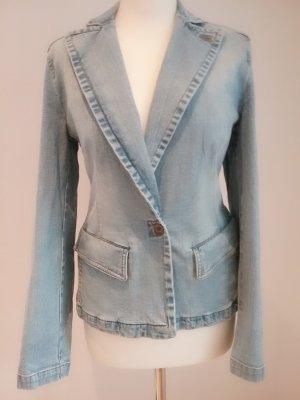 Betty Barclay Collection Jeans Blazer/Jacke Angora Gr 40 neuwertig