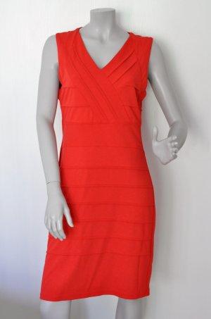 Betty Barclay Collection Jersey Kleid Viskose-Mix rot Gr. 40 UNGETRAGEN