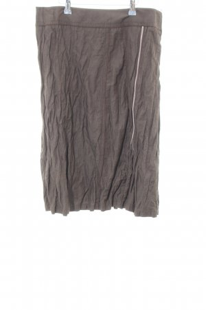 Betty Barclay Crash Skirt bronze-colored casual look