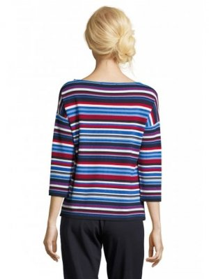 Betty Barclay Damen Sweatshirt 3/4 Arm Bunt Gr. 36 Neu mit Etikett 59,99 Euro