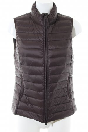 Betty Barclay Down Vest brown quilting pattern casual look