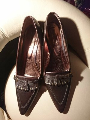 Betty Barclay Mocassins brun cuir
