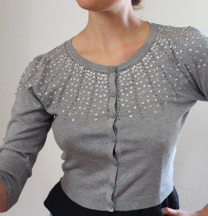 Betty Barclay Elements Cardigan mit Pailletten