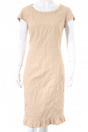 Betty Barclay Vestido ceñido de tubo beige look casual