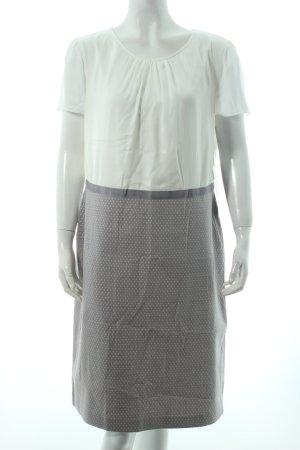 Betty Barclay Etuikleid creme-grau grafisches Muster klassischer Stil