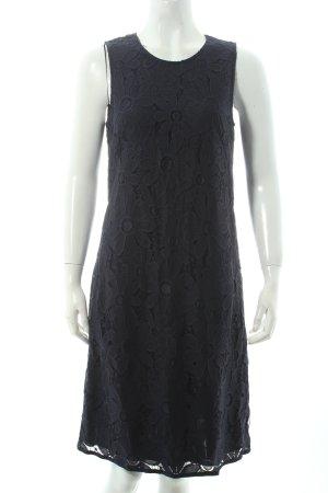 Betty Barclay Etuikleid dunkelblau florales Muster klassischer Stil