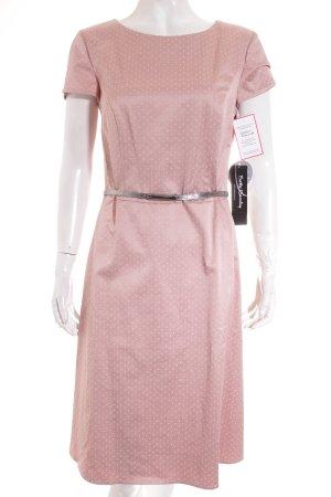 Betty Barclay Etuikleid rosé-weiß Punktemuster Elegant