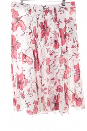 Betty Barclay Faltenrock florales Muster klassischer Stil