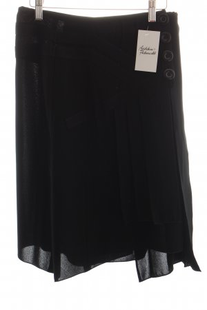 Betty Barclay Faltenrock schwarz Casual-Look