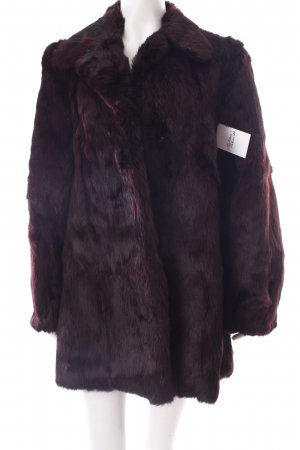 Betty Barclay Felljacke dunkelviolett-brombeerrot Farbverlauf extravaganter Stil
